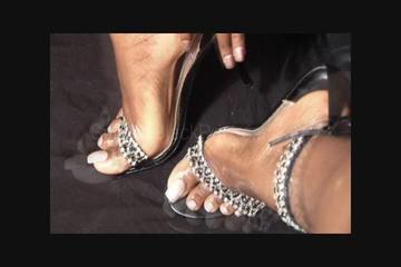 Beautiful long pearl toes