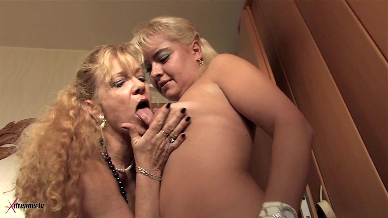 Hot Lesbian Games With Two Older Milf's