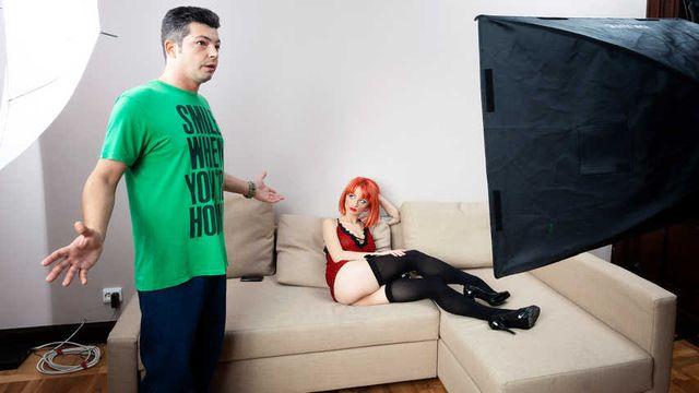 TGIP S01E01 - Skinny redhead teen Evona Raider reveals that she is doing hardcore porn