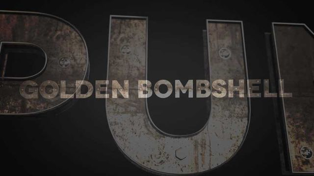 THONG PUNISHERS INTRO - GOLDENBOMBSHELL