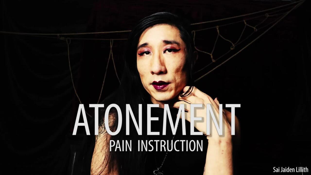 Atonement (Solo BDSM Instruction)