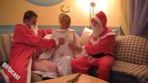 Jacky as Christmas Angel - Double Feature Clip