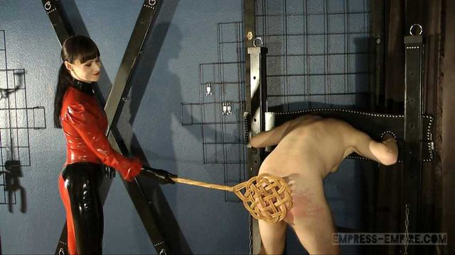 Cheyenne de Muriel - Severe caning and whipping