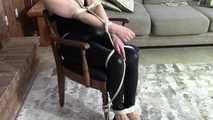 I am Wendy - Chair Tied
