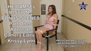 The Damsel Mission - Bonus Scenes - Alternate Camera Edits - Part One - Krissy Lynn