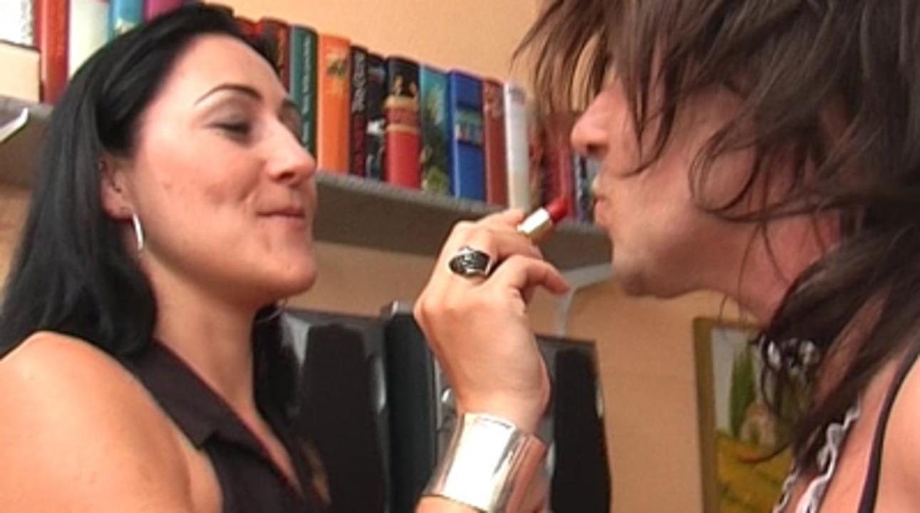 La Femme Fatale and Baroness Bijou - Sissy und Cuckold