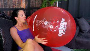 Blow2Pop red Globos Payaso