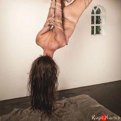Bamboo Spread, part 2/3 #ropemarks #nawashi #kinbakushi #spring #submissive #slavegirl #tall #fetlight #fl #japanese #rope #bondage #shibari #kinbaku #strappado #bamboo #suspension #torment #semenawa #play #real #sexy #art