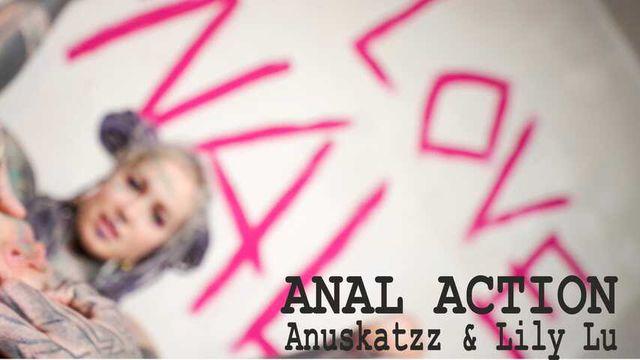 Anuskatzz  lovezZ ANAL FUCK gape stretch cumshot