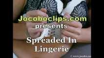 Spreaded In Lingerie