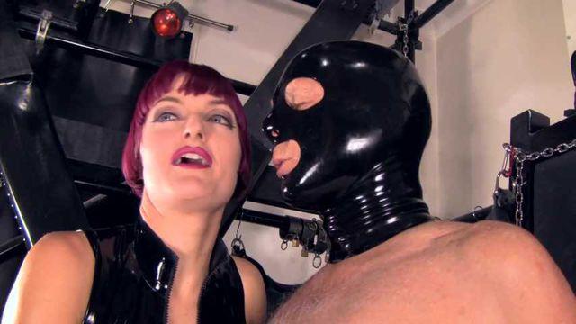 Mistress Tokyo - Shibari rope bondage suspension with strap on and nipple play
