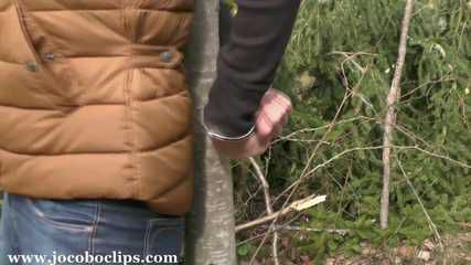 Handcuffed Outdoor