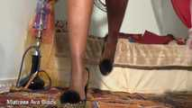 You are the luckiest shoe slave EVER!