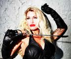 Leather, Gloves and Whip by Christophe Mourthé
