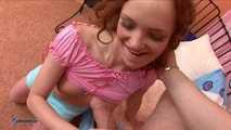 Schoolgirl Kate's Blow- And Handjob Action
