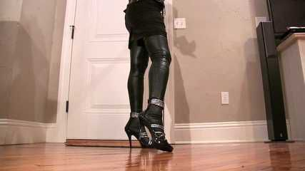 Latex Biker Legs