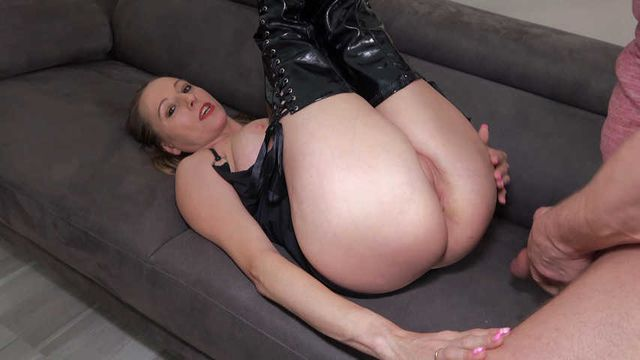 Fucked deep in the ass
