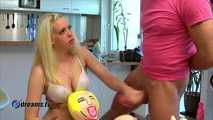 Penny's Handjob With Sex Doll