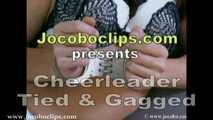 Cheerleader Tied And Gagged