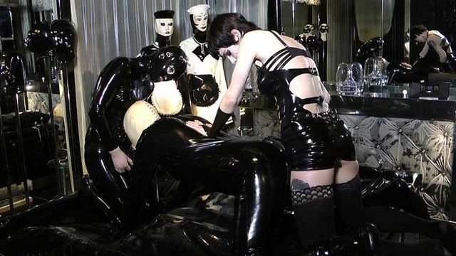 Lady Minou & Kandy - Ultimate Rubber Sex (Part4)