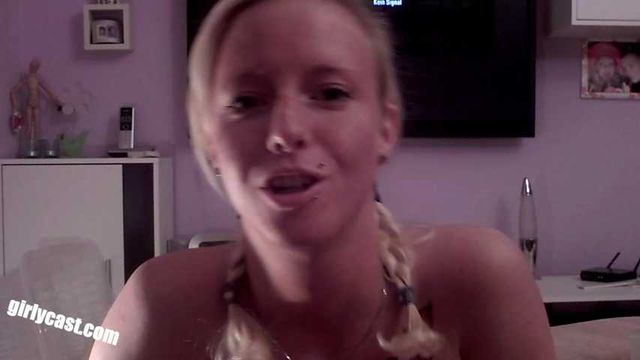 Skinny teen Lucie's first BBC Creampie & Home Video