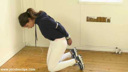 Horsewoman Tied & Gagged After Use