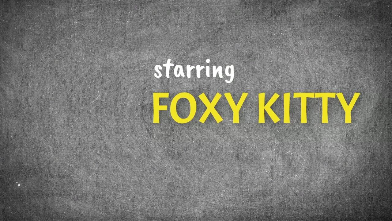 Squirting for Dummies 2 - Foxy Kitty - Clip1