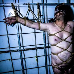 You awaken to darkness, cold steel at your back... limbs restrained with ropes and chill air on your naked flesh. And a whisper...<br /><br />Do you remember?<br /><br />Model: @michael14675870 <br />Ropes / Photo / Spook: Me<br /><br />Patreon: LillithsWeb<br /><br />#Shibari #meninrope
