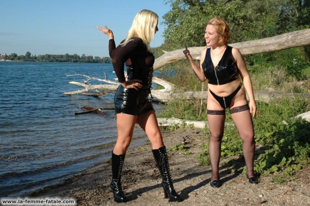 Bestrafung am See
