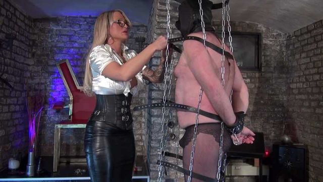 The Nylon Pig in the Hanging Cage