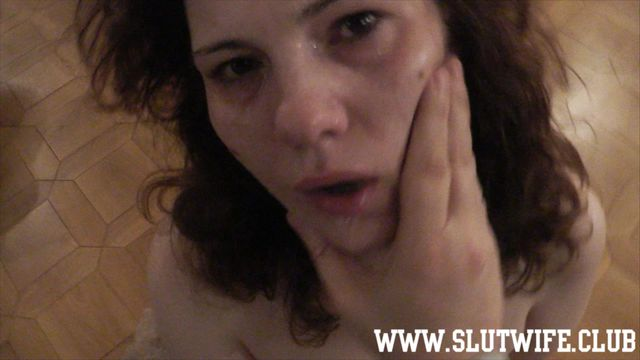 [Blow'n'Gag] Rough sloppy deepthroat: I make Carla Sky understand how to suck cock proper