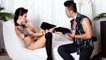 PVD S01E08 - Smearing Miss Jordan: Tattooed German babe Jordan Night shows boobs and fucks hard with Mugur