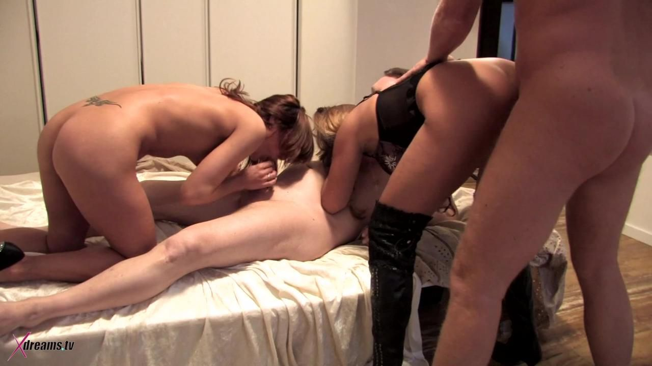 Amateur Switching Partners Couple Party - Part 2