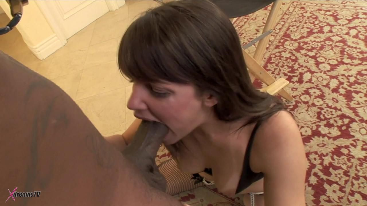 Black & White - Bobbi Starr - Explore My Deep Tight Asshole With Your BBC