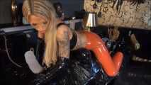 Latex  Facesitting (Wrapped, Tease and Denial Part 2)