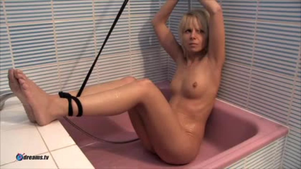 Lesbian Shower Domination By Mistress Yvette And Slave Pia