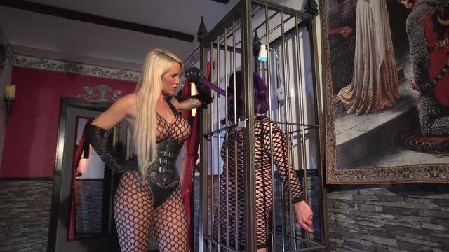 The Cage Slut