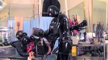 Mistress Tokyo - Heavy rubber play with Mistress' f*cking machine!