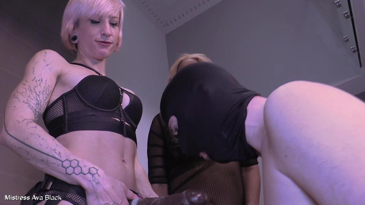 Virgin hole trained for black cock - Part Two